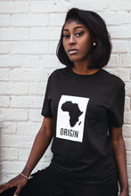 Load image into Gallery viewer, Origin - Black Unisex T-Shirt