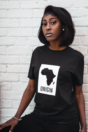 Origin - Black Unisex T-Shirt