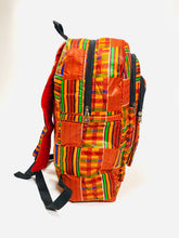 Load image into Gallery viewer, Kente Backpack