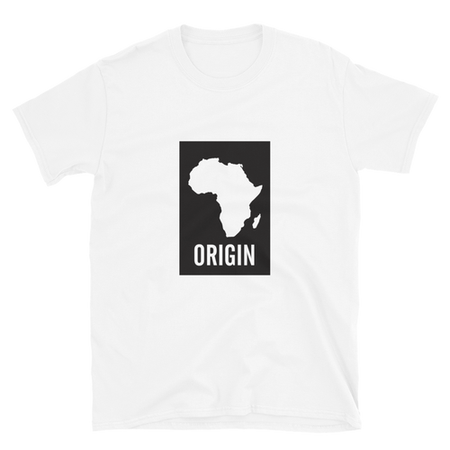 Origin - White Unisex T-Shirt