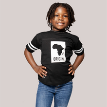 Load image into Gallery viewer, Origin Toddler Fine Jersey Football Tee