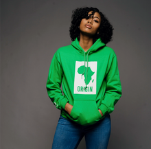 Load image into Gallery viewer, Origin - Green Hoodie
