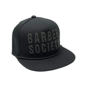 Barber Socitey adjustable cap - Black