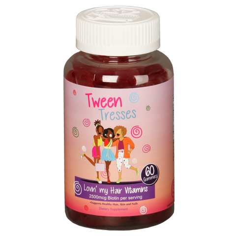 Tween Tresses : Lovin' My Hair Vitamins - Biotin Gummy