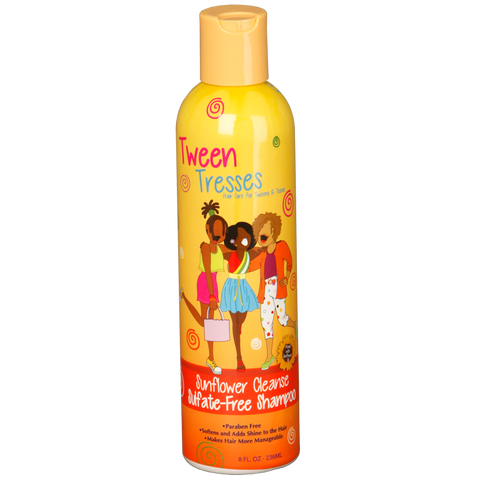 Tween Tresses : Sunflower Cleanse Sulfate Free Shampoo