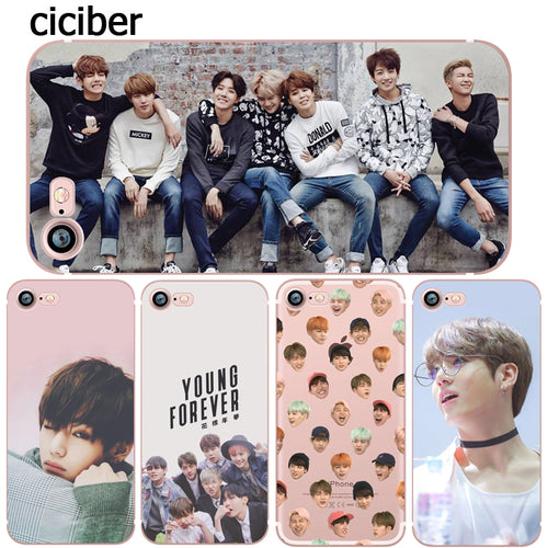 Capa Para IPhone BTS Young Forever 5s 6 6s 7 plus
