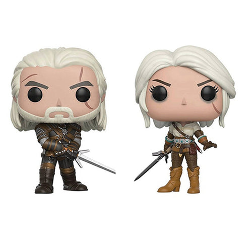Funko The Witcher Figuras Geralt Ciri