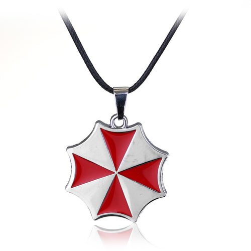 Colar Resident Evil Pingente Umbrella Corporation