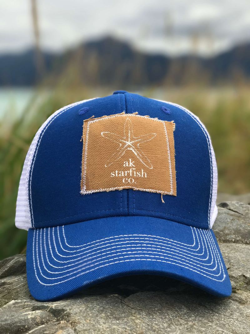 AK Starfish Co. Patch Hats