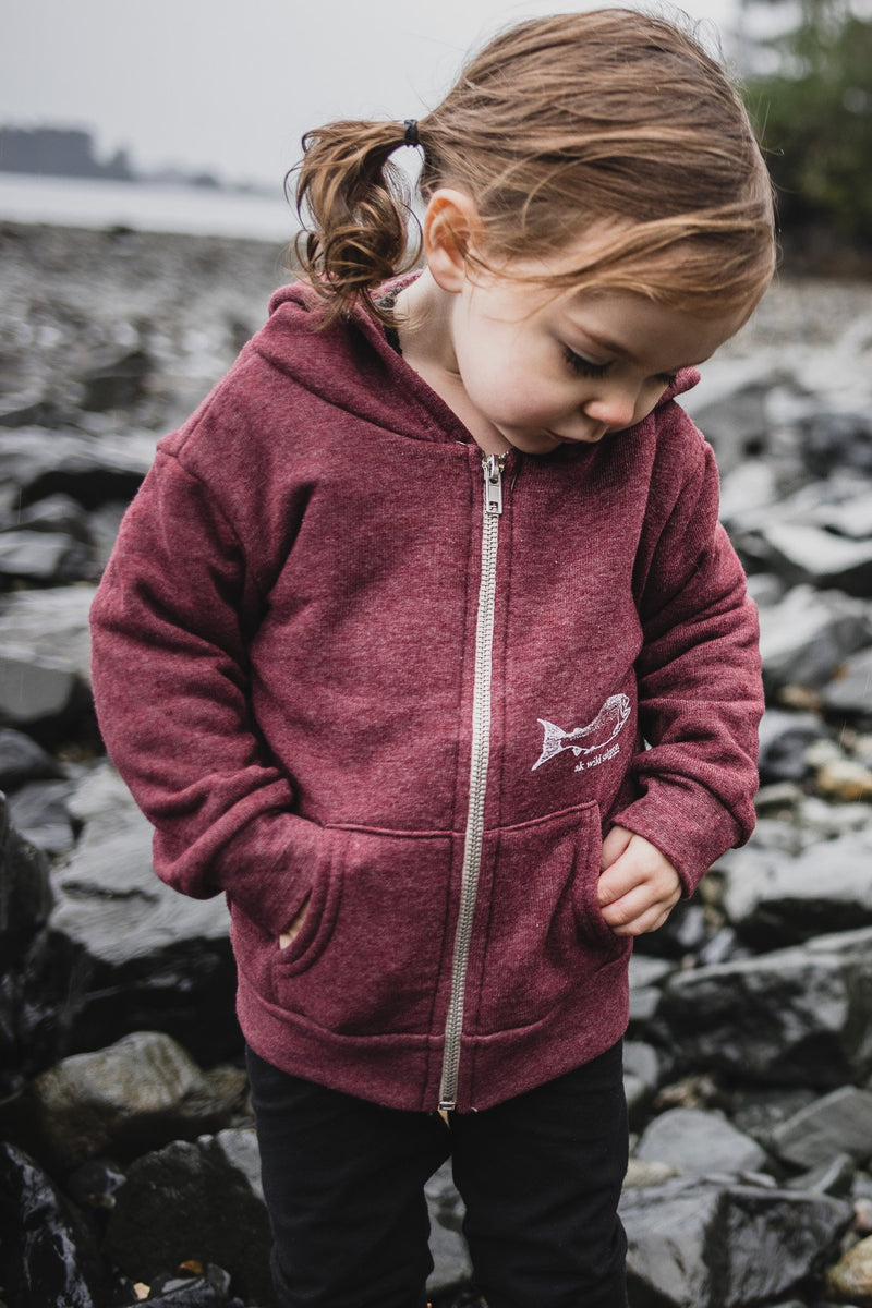 Children's Blended Zipped Hoody