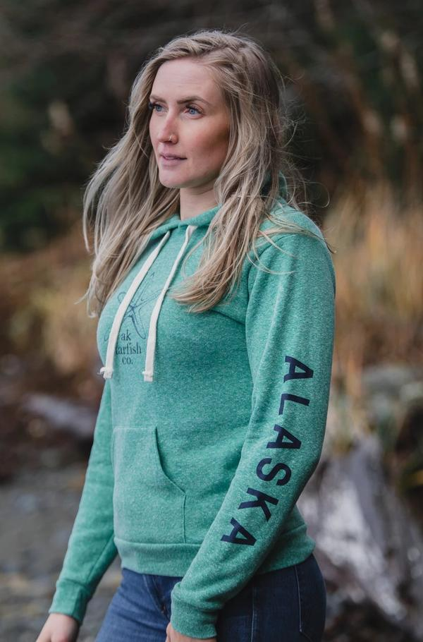 Beach Grass AK Starfish Co. Triblend Pullover Hoody $60.00