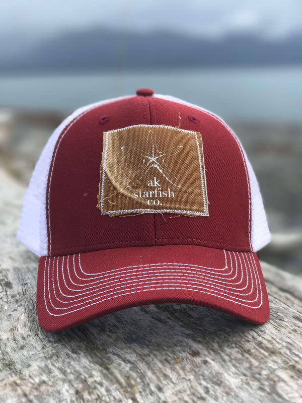 Autumn AK Starfish Co. Patch Hat 35.00