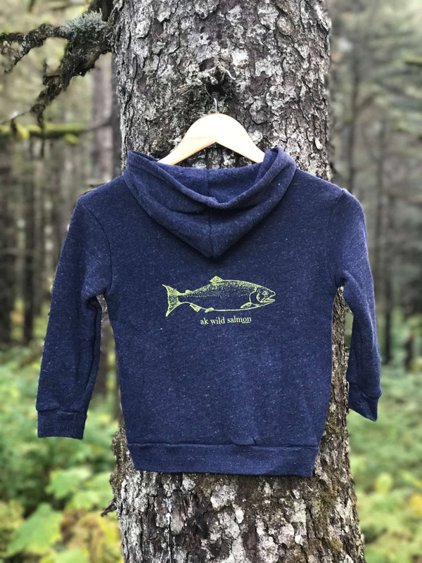 Beach Navy AK Wild Salmon $45.00