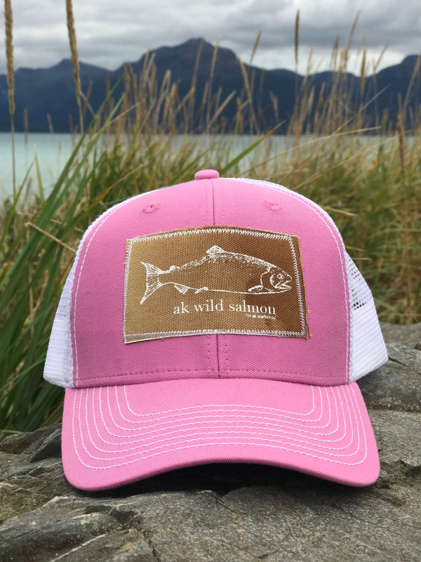 Beach Pink with Slate AK Starfish Co.,  AK Wild Salmon 35.00