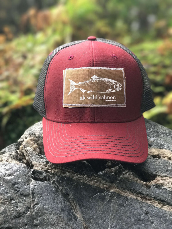 Cranberry with Slate AK Starfish Co.,  AK Wild Salmon 35.00