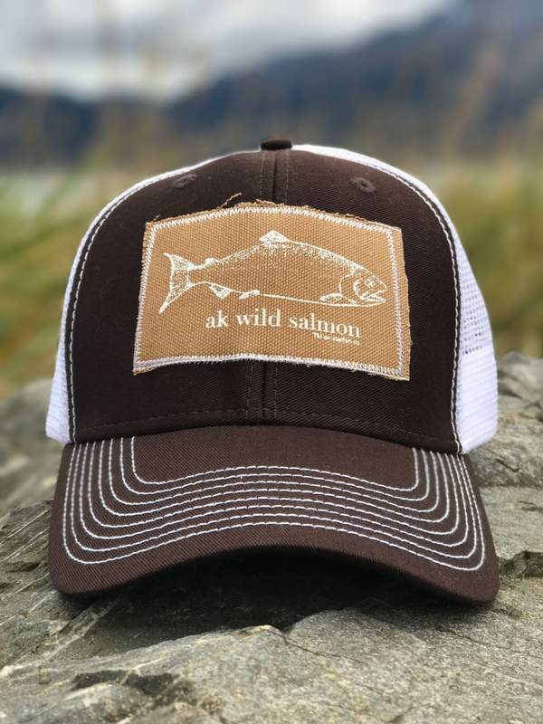 Deer AK Wild Salmon Patch Hat 35.00