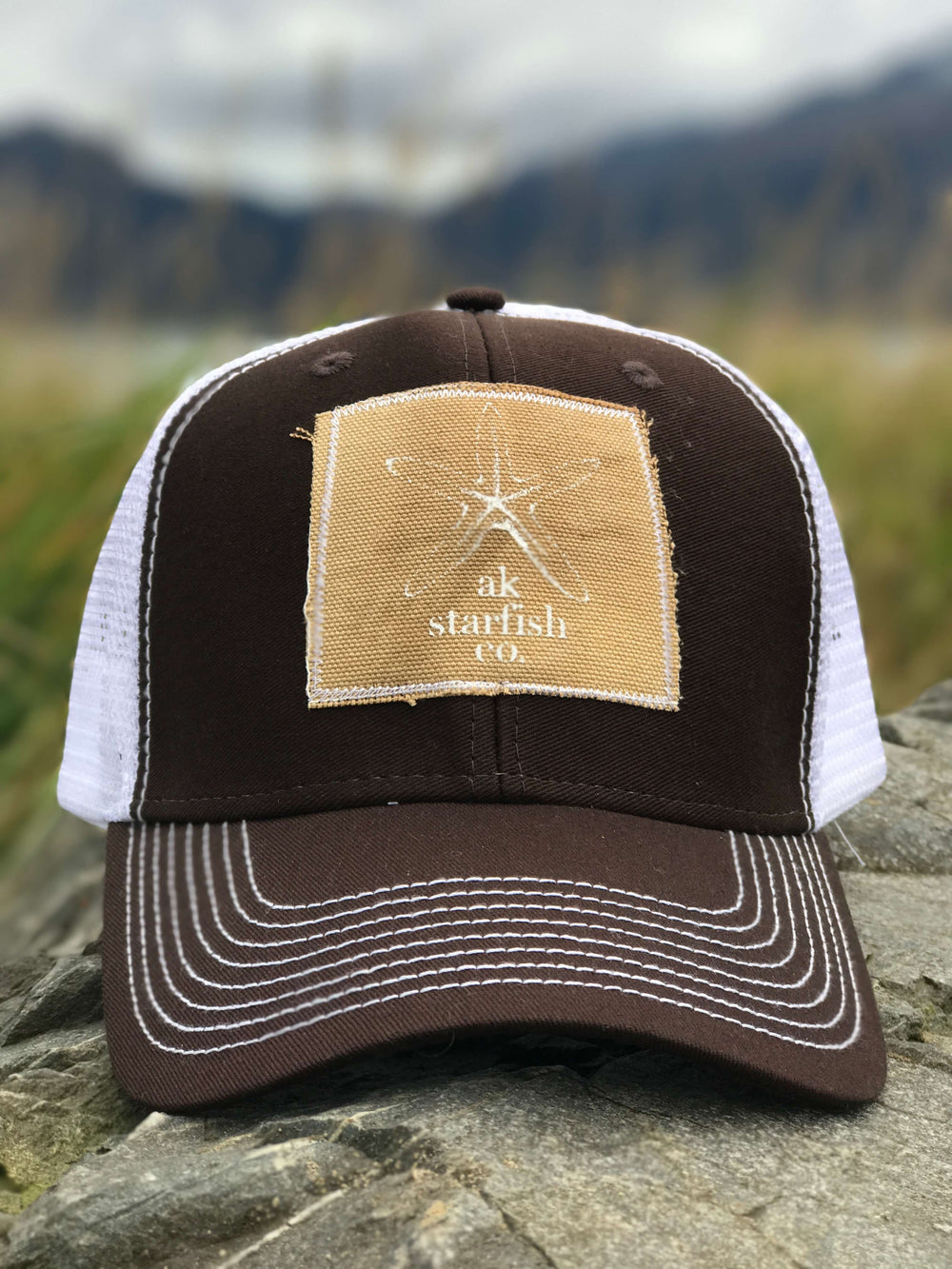 Deer AK Starfish Co. Patch Hat 35.00