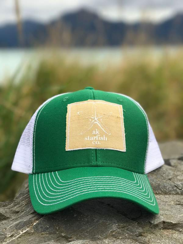 Grass AK Starfish Co. Patch Hat 35.00