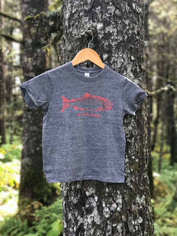 Storm AK Wild Salmon Triblend Short Sleeved Tee $25.00