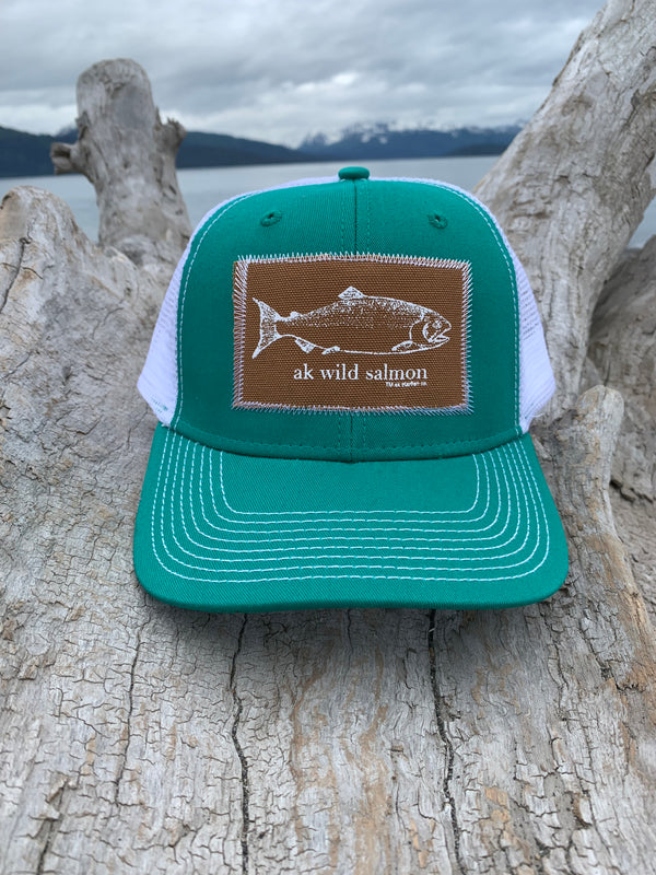 Jade AK Wild Salmon Patch Hat 35.00