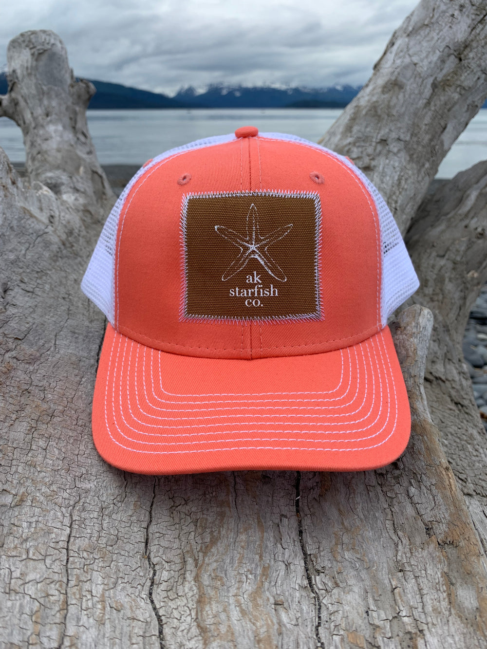 Shrimp AK Starfish Co. Patch Hat $35.00