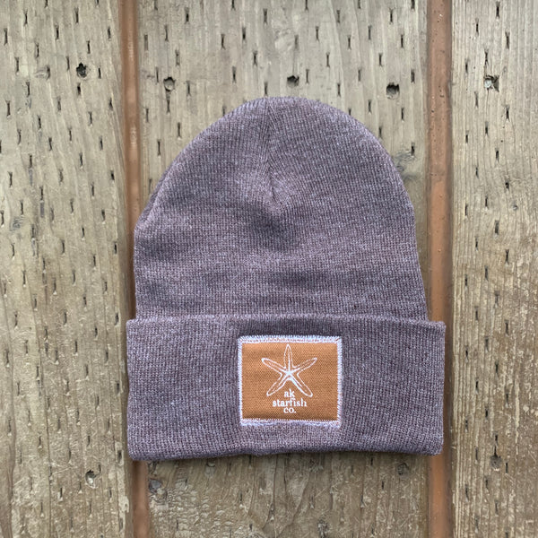 Fawn AK Starfish Co. Patch Beanie $35.00