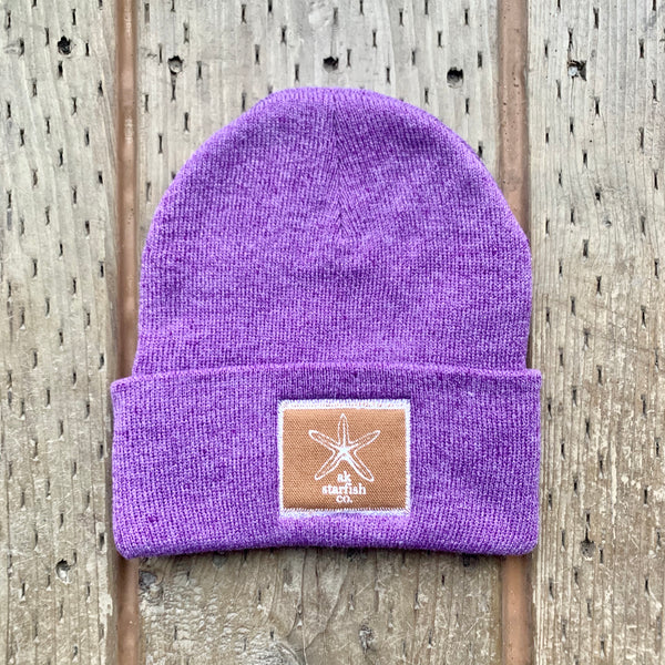 Alpenglow AK Starfish Co. Patch Beanie $35.00