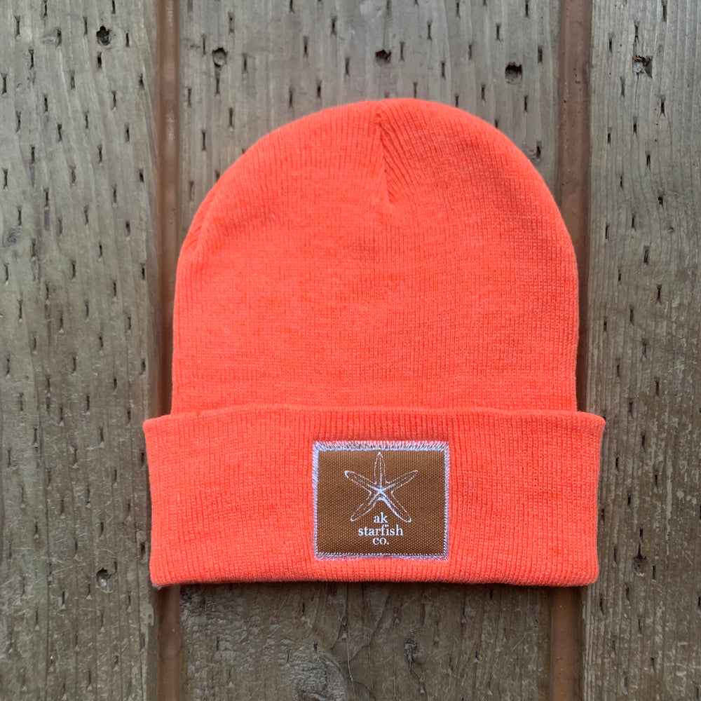 Sunrise AK Starfish Co. Patch Beanie $35.00