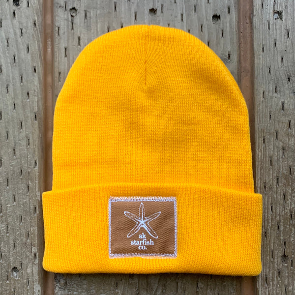 Honey AK Starfish Co. Patch Beanie $35.00