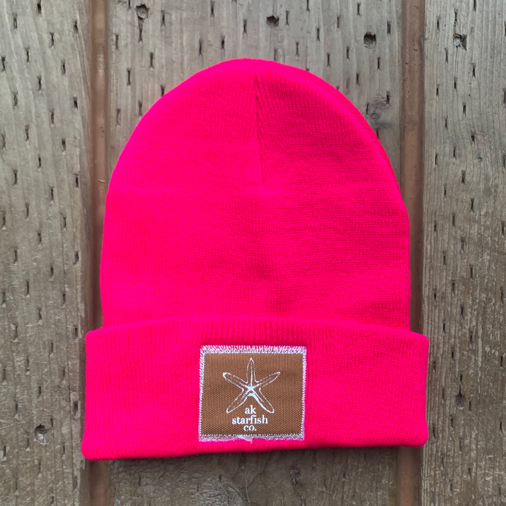 Fireweed AK Starfish Co. Patch Beanie $35.00
