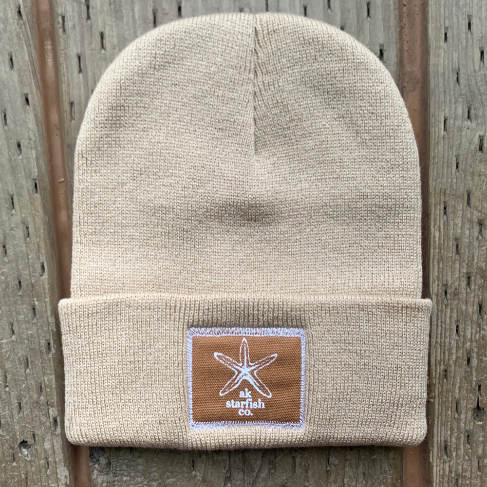 Driftwood AK Starfish Co. Patch Beanie 35.00