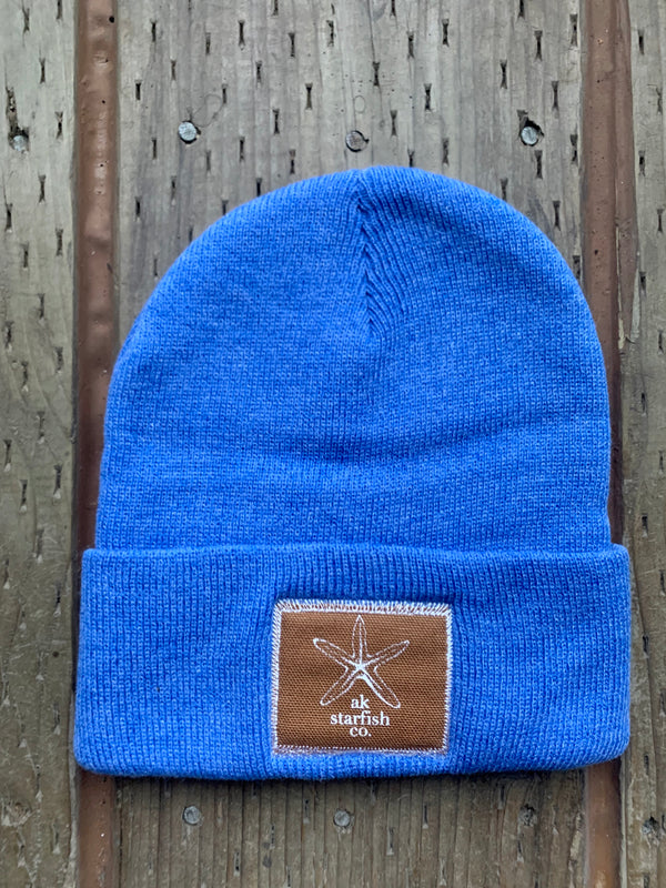Sky AK Starfish Co. Patch Beanie $35.00