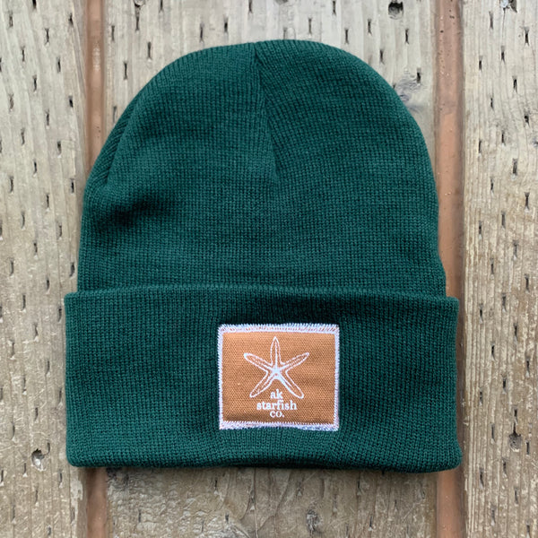 Marine AK Starfish Co. Patch Beanie $35.00