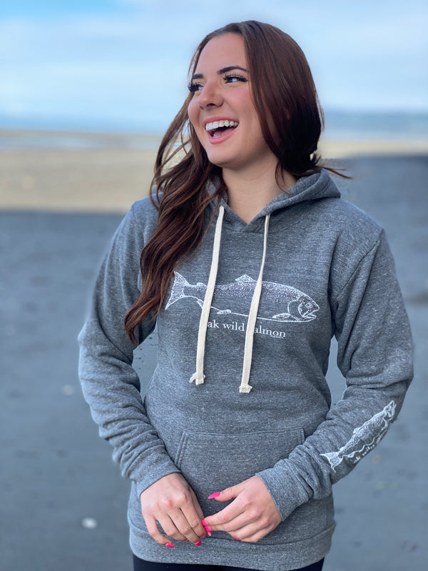 Storm AK Wild Salmon Triblend Pullover Hoody $60.00
