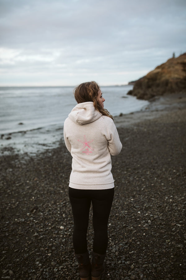 Pearl AK Starfish Co. Triblend Zipped Hoody $65.00