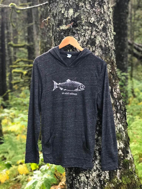 Slate AK Wild Salmon Light Weight Pullover $55.00