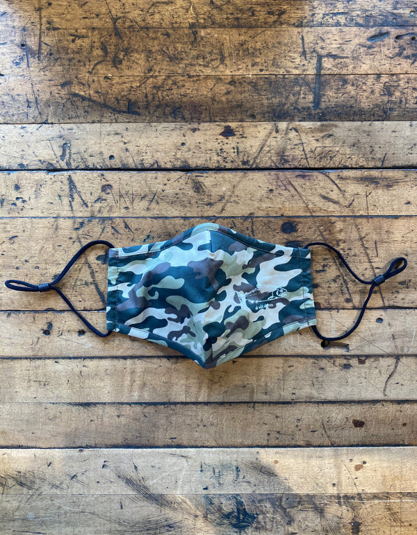 Camo AK Wild Salmon Face Mask $15