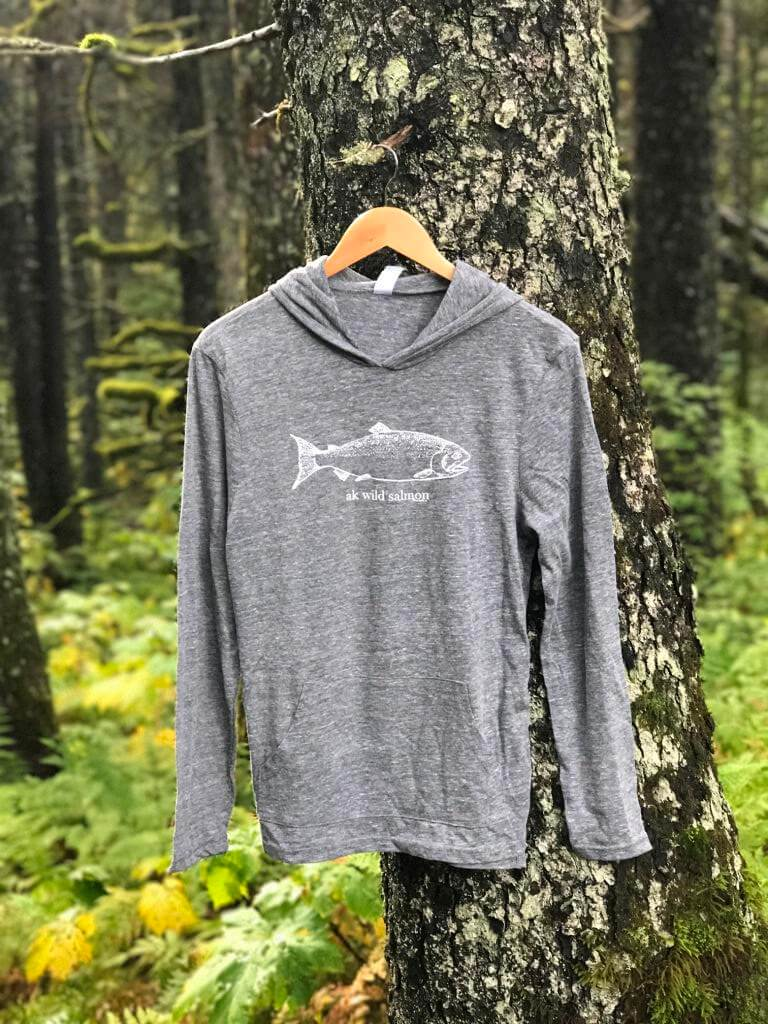 Heather Gray AK Wild Salmon $55.00