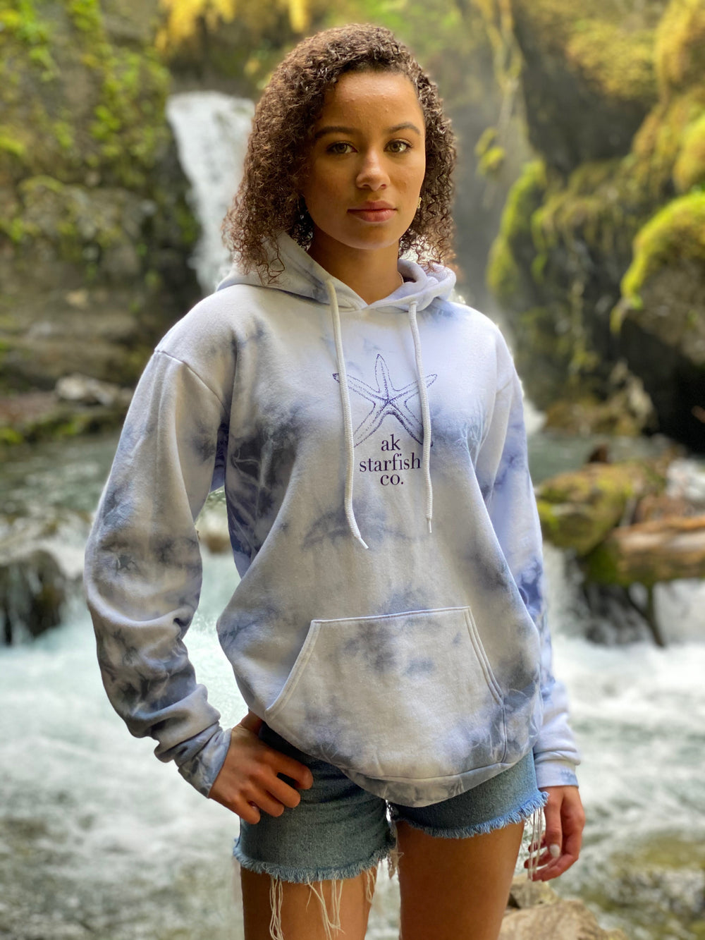 Resurrection Bay AK Starfish Co. Pullover Hoody