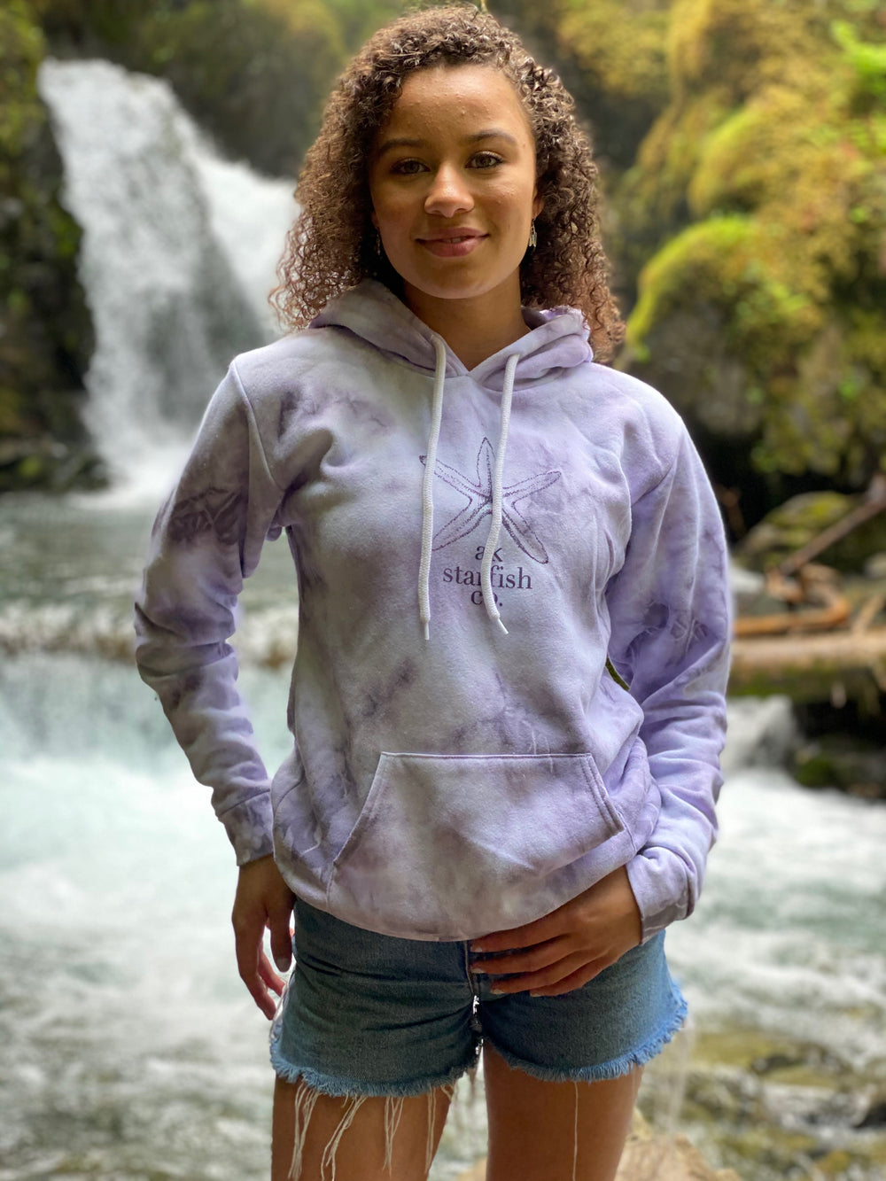 Kachemak Bay AK Starfish Co. Pullover Hoody