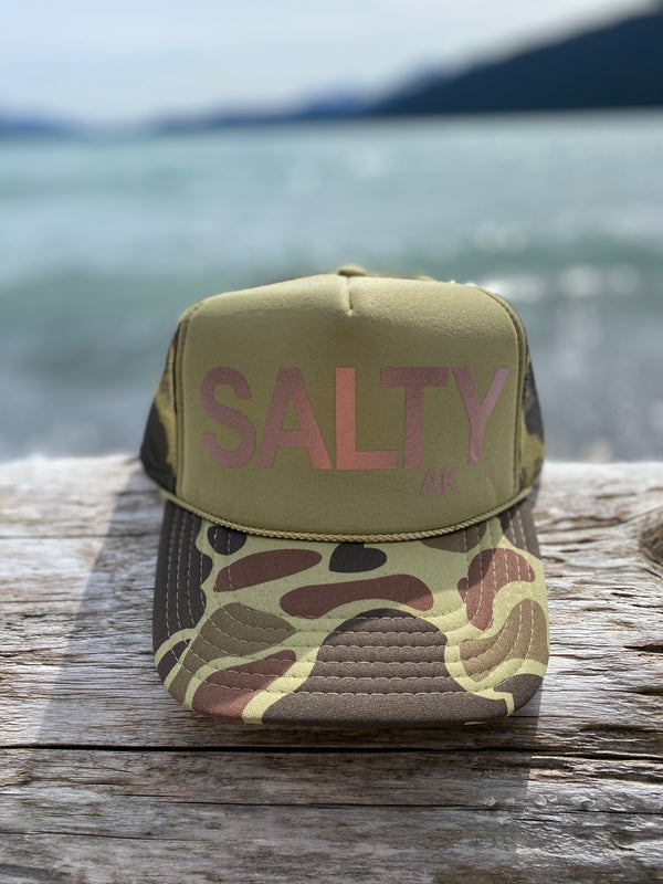 Camo with Rose Gold SALTY $35.00