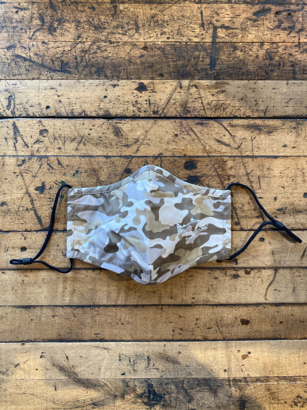 Light Camo AK Wild Salmon Face Mask $15