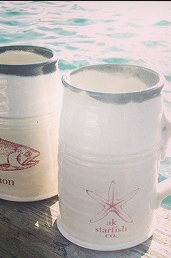 AK Starfish Co. Mug $45.00
