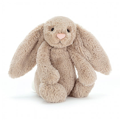 Peluche lapin beige Jellycat bashful medium