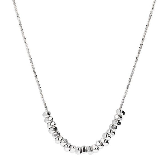 Collier argent Daisy