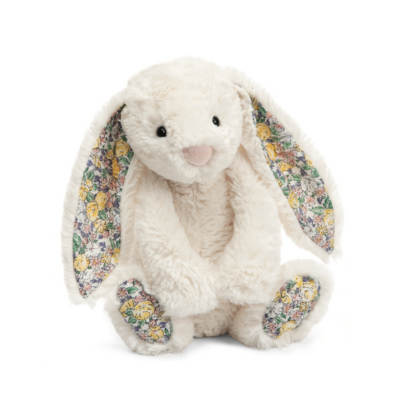 Lapin Blossom Jellycat Bashfull ivoire