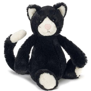 Chat Jellycat Bashful noir