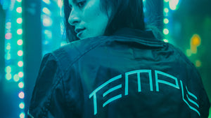 Temple Bomber Jacket by Electric Family
