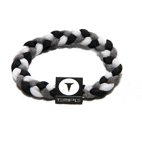 Temple Bracelet by Electric Family Gray/White