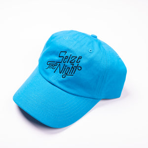 Seize The Night Temple Dad Hat Blue